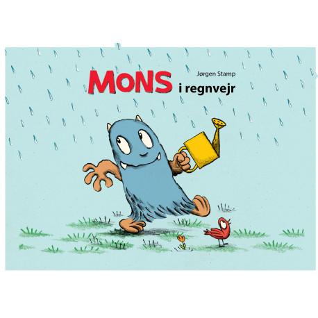 Mons i regnvejr