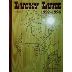 Spøgelses-diligencen. Dalton-brødrene skyder på det hele. Broen over Missisippi: Lucky Luke 1992-1994