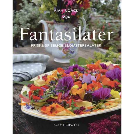 FANTASILATER: Friske spiselige blomstersalater