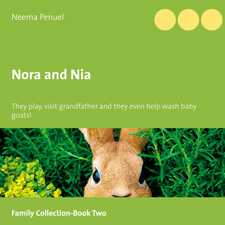 Nora and Nia: They play, they visit grandfather and they even help wash baby goats!