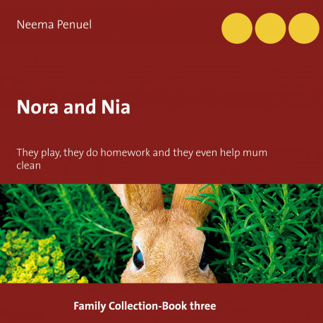 Nora and Nia: They play, they do homework and they even help mum clean the neighbor's house!