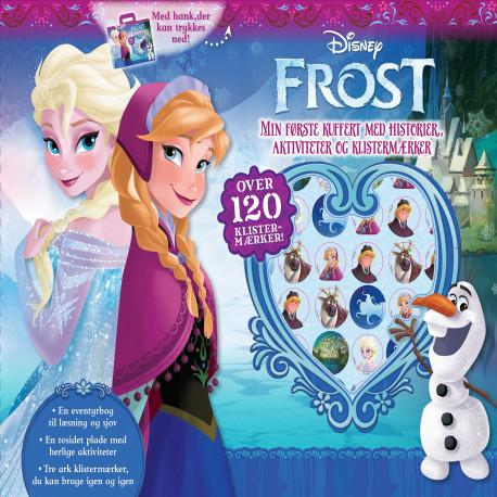Disney Frost - Min første kuffert m. hank: Med historier, aktiviteter og klistermærker!