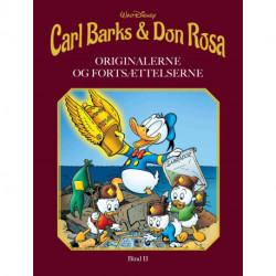 Carl Barks & Don Rosa Bind II: ORIGINALERNE OG FORTSÆTTELSERNE