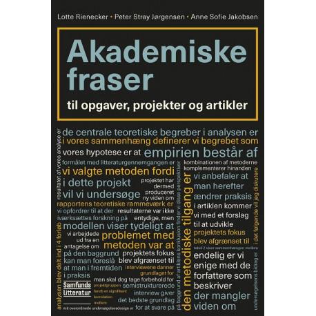Akademiske fraser: til opgaver, projekter og artikler