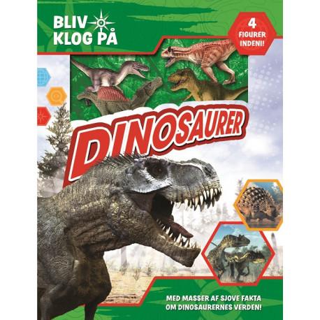 Bliv klog på Dinosaur: Gaveæske med minibog og 4 figurer