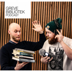 Greve Biblioteks Podcast - LYTTEKLUBBEN -8 - Frank Vender Hjem