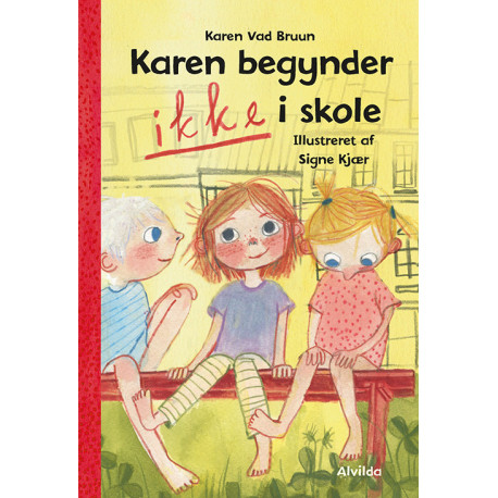 Karen begynder IKKE i skole (1)
