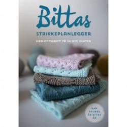 Bittas strikkeplanlegger : med oppskrift på 24 nye kluter