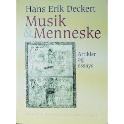 Musik & Menneske: artikler og essays