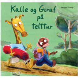 Kalle og Giraf på telttur