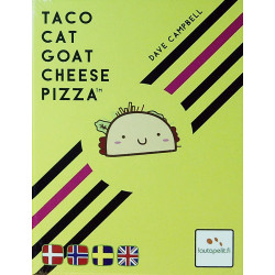 Taco Cat Goat Cheese Pizza - Dansk
