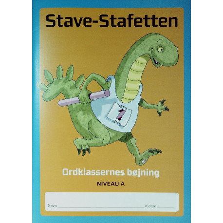 Stave-stafetten - Niveau A: ordklassernes bøjning (Bind 1)