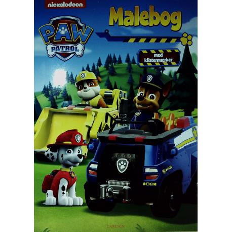 Paw Patrol malebog
