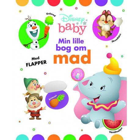 Disney Baby Min lille bog om mad: Bog med flapper