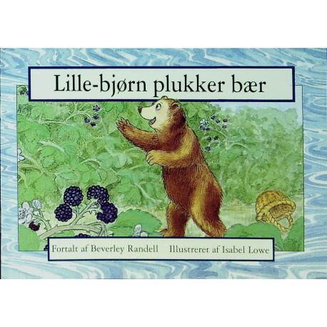 Lille-bjørn plukker bær
