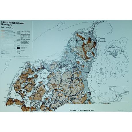Landskabskort A4 Nordjylland