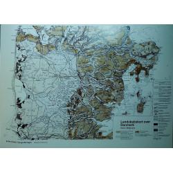 Landskabskort A4 Midtjylland