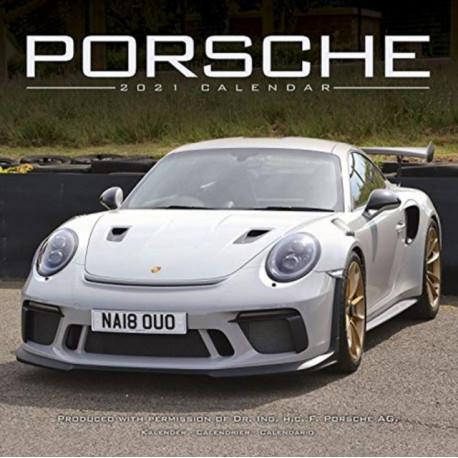 Porsche 2021 Wall Calendar