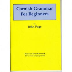 Cornish Grammar for Beginners