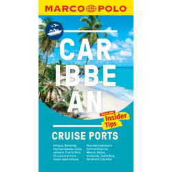 Caribbean Cruise Ports Marco Polo Pocket Guide - with pull out maps
