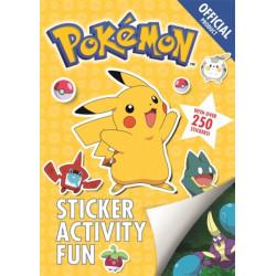 The Official Pokemon Sticker Activity Fun