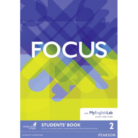 Focus BrE 2 Student's Book & MyEnglishLab Pack