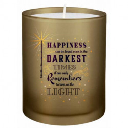 Harry Potter: Turn on the Light Glass Candle
