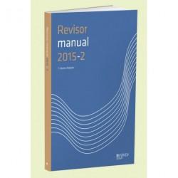 RevisorManual 2015/2