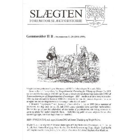 Gemmesider II B fra numrene 11-20 (1995-1999)