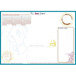 The Dodo Jotter Pad - A3 Desk Sized Jotter-Scribble-Doodle-to-do-List-Tear-off-Notepad