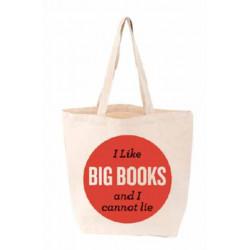 I Like Big Books TOTE FIRM SALE