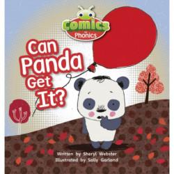 Bug Club Comics for Phonics Reception Phase 2 Set 05 Can Panda Get It?