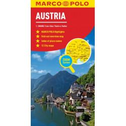 Austria Marco Polo Map