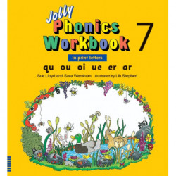 Jolly Phonics Workbook 7: In Print Letters (American English edition)