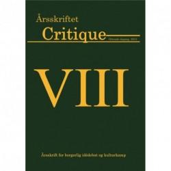 Critique: årsskrift for borgerlig idedebat og kulturkamp (2015 (8. årgang))