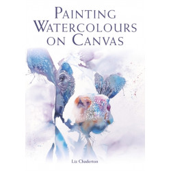Painting Watercolours on Canvas