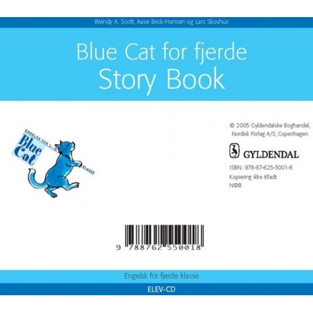 Blue cat for fjerde - Elev CD: Sprog CD