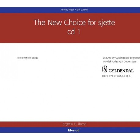 The New Choice for sjette - Elev CD