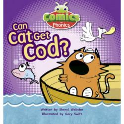 Bug Club Comics for Phonics Reception Phase 2 Set 04 Can Cat Get Cod?