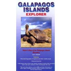 Galapagos Islands Explorer: Visitor's Map of the Galapagos Islands (Ecuador)