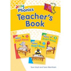 Jolly Phonics Teacher's Book: in Precursive Letters (British English edition)