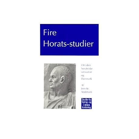 Fire Horats-studier: Om den horatsiske verssatire og Danmark