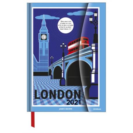 JAMES BROWN IN LONDON LARGE MAGNETO DIAR