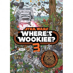 Star Wars: Where's the Wookiee 3? Search and Find Activity Book