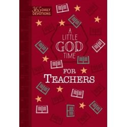 A Little God Time for Teachers (Faux)