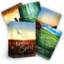 Native Spirit Oracle Cards: A 44-Card Deck and Guidebook