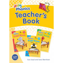 Jolly Phonics Teacher's Book: in Print Letters (British English edition)
