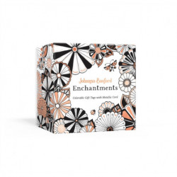 Johanna Basford Enchantments: Colorable Gift Tags with Metallic Cord