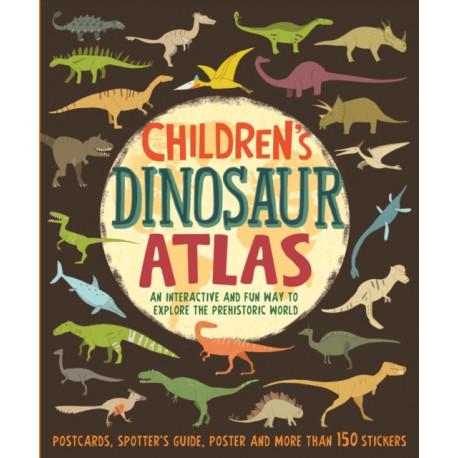 Children's Dinosaur Atlas: An interactive and fun way to explore the prehistoric world