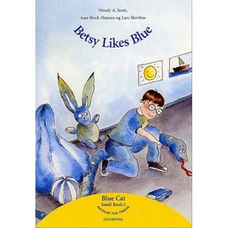 Betsy likes blue: Big book